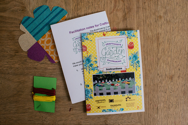 Win a Craftivists Garden #wellMAKING kit at Story of Mum's #somum Make Date on 10 Dec