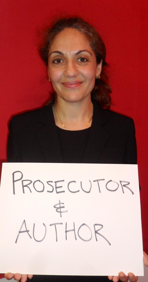 I'm a MOM and a prosecutor and author