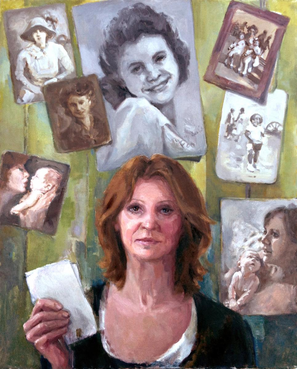 Four Generations of Mother by Colleen Quill, Motherhood exhibition/book