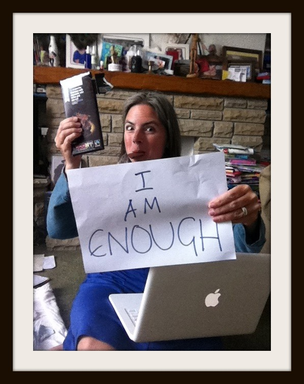 I am enough when I stuff myself with chocolate to work - Story of Mm