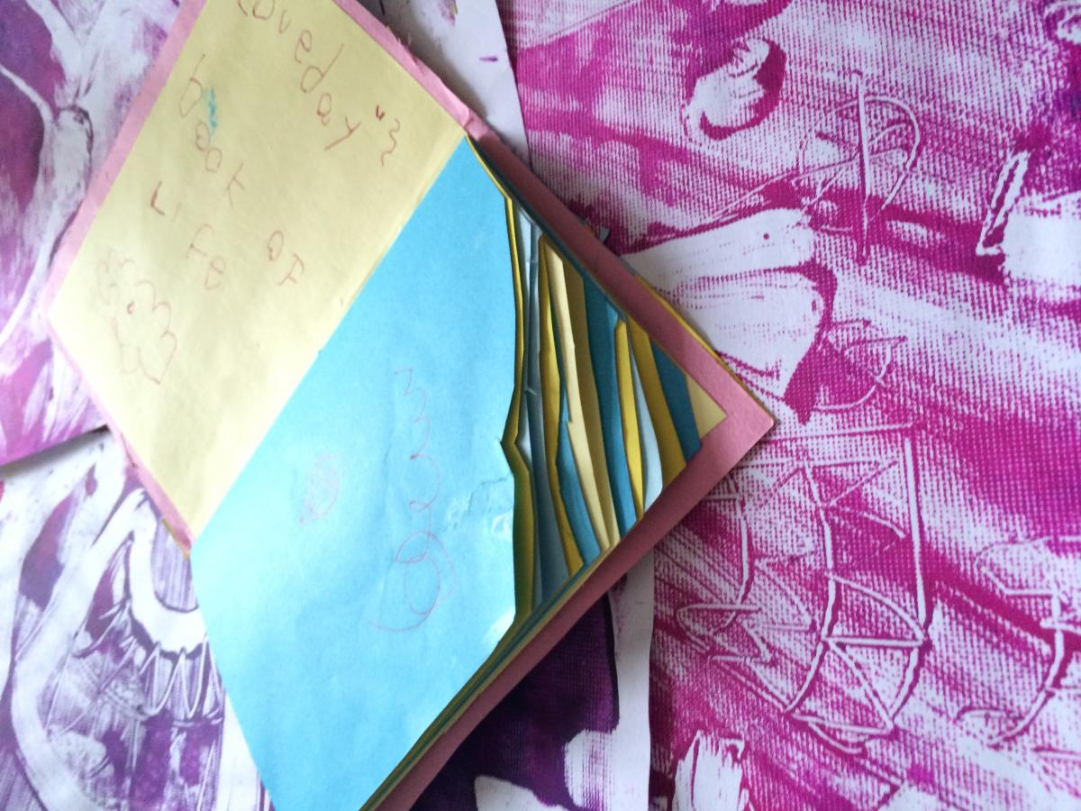 Make a Mini Mama Journal with Story of Mum