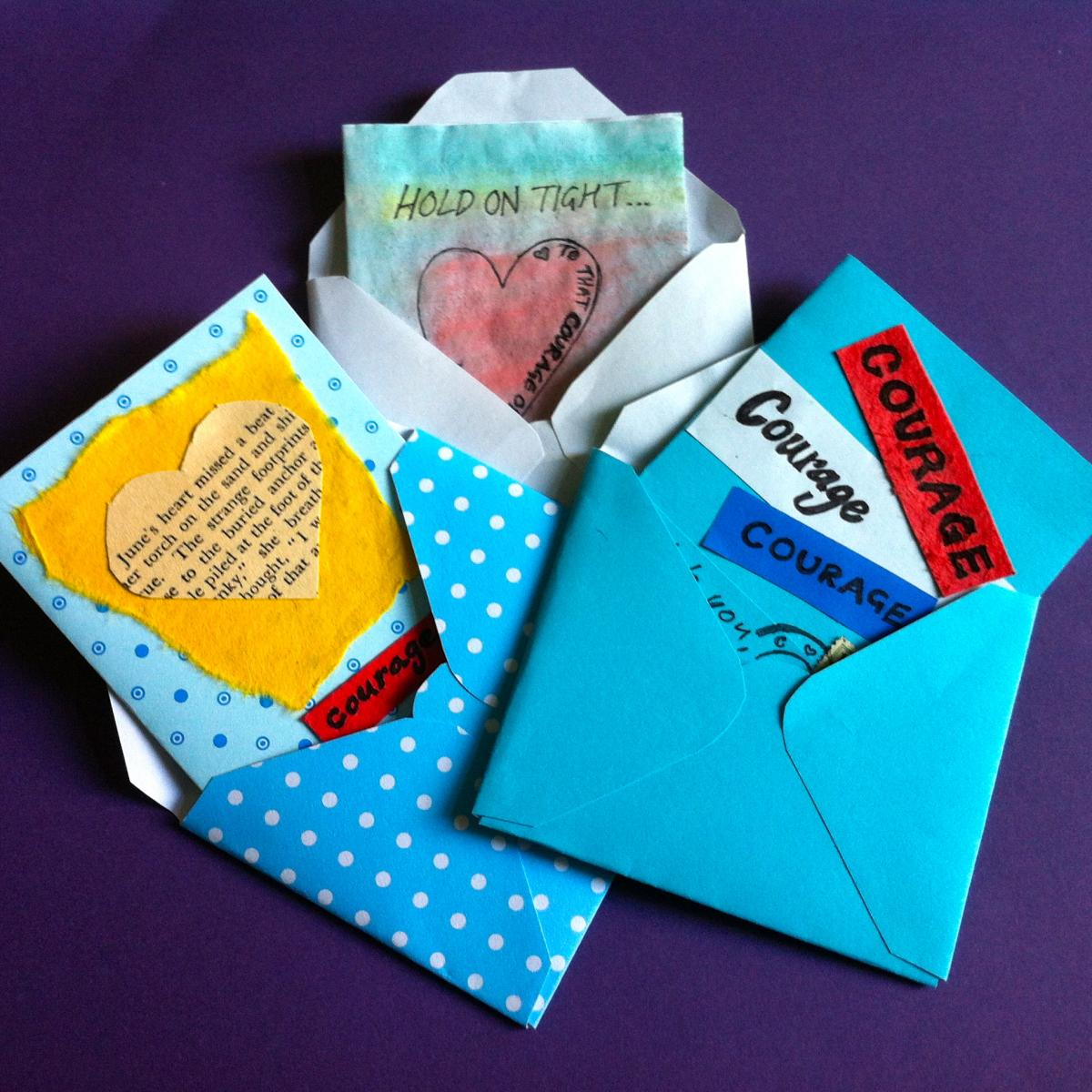 Encouragement cards - courage for mamas