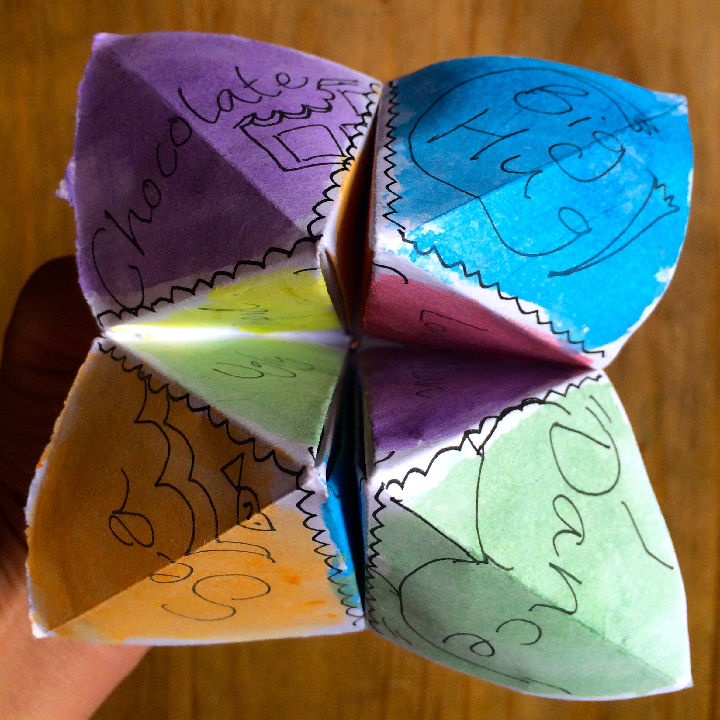 Make a Feel-Good Fortune Teller with Story of Mum