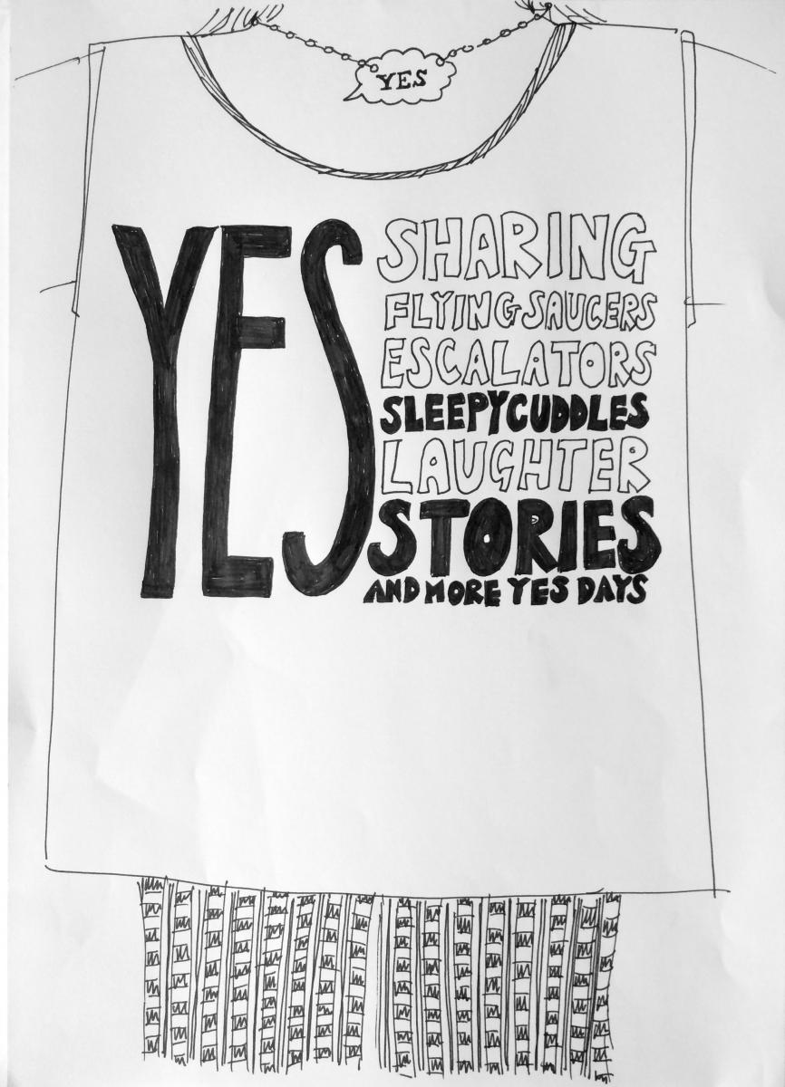 Make a Yes Vest with Story of Mum