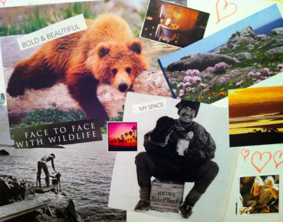 Collage from Story of Mum's Mamas' Retreat: What nurtures you?