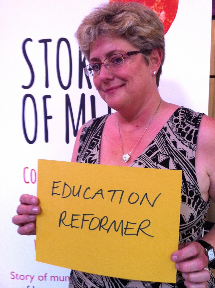 mum and education reformer