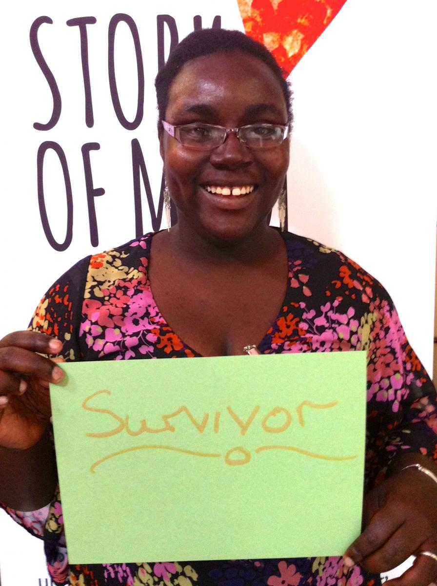mum and a survivor