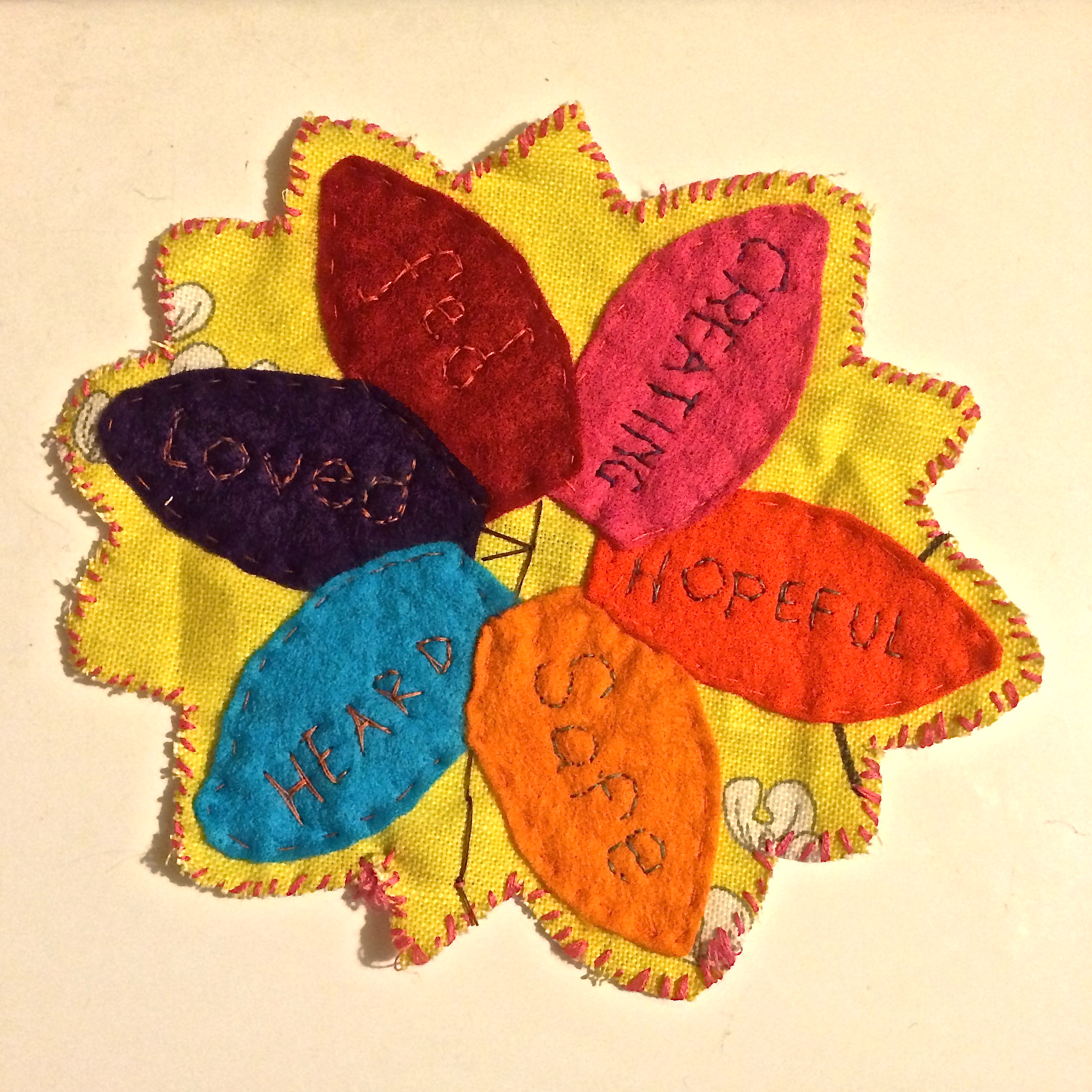 Make a flower for the Craftivists Garden #wellMAKING with Story of Mum