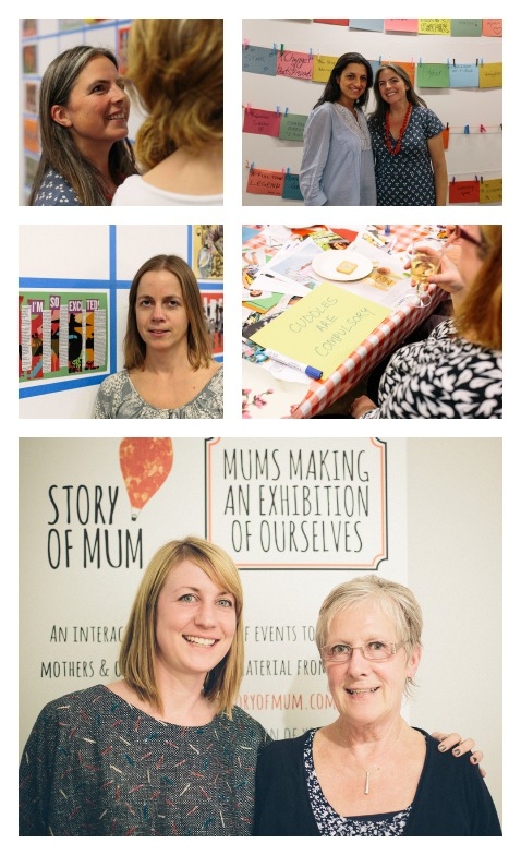 Story of Mum at The Photographers Gallery: Dina of Kensington Mums, Angela and her mother, Pippa Best, Gretta Schifano