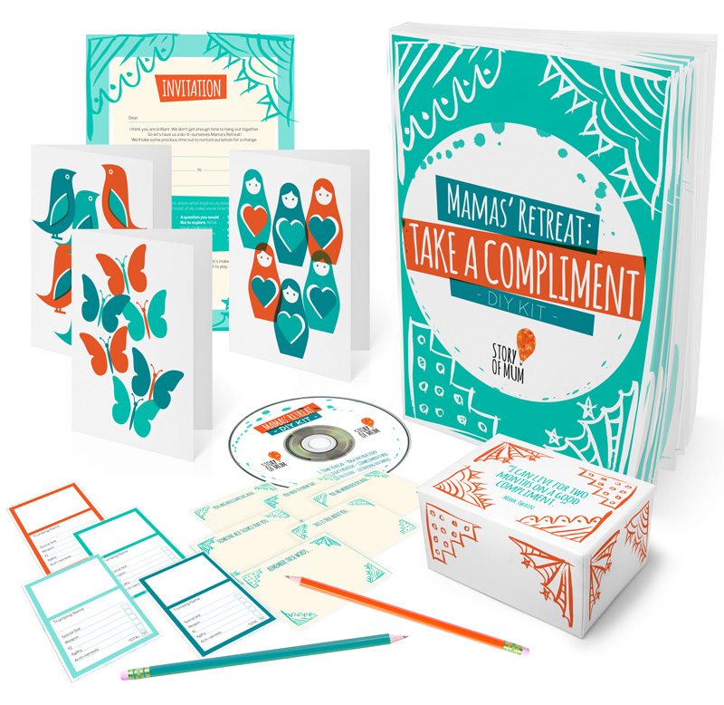 DIY Mamas' Retreat Kit from Story of Mum: everything you need to host your own affordable and inspiring mamas' retreat