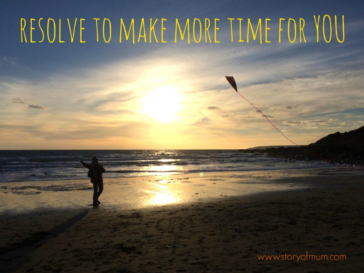 Resolve to make time for you, with us, at Story of Mum