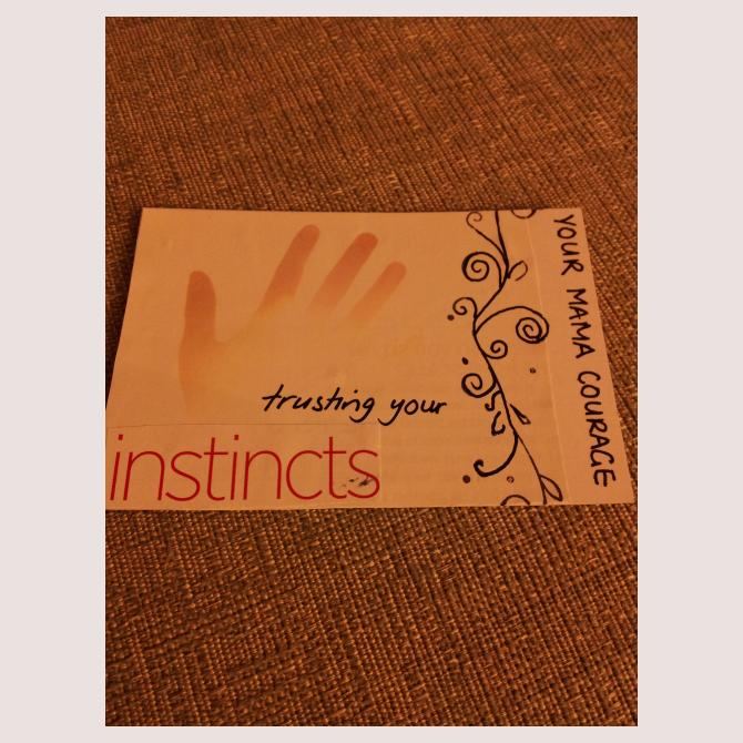 Encouragement card by Mums and More