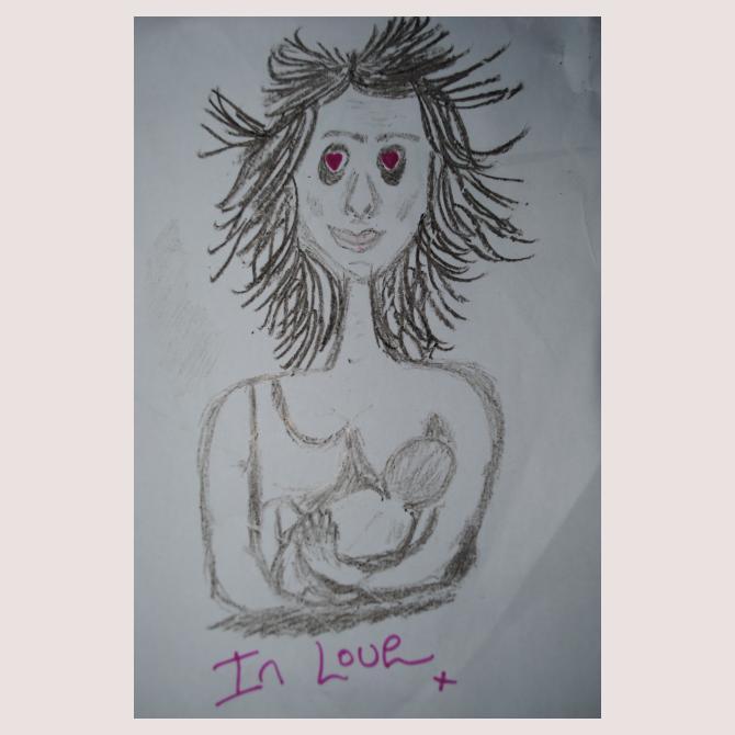 In love x