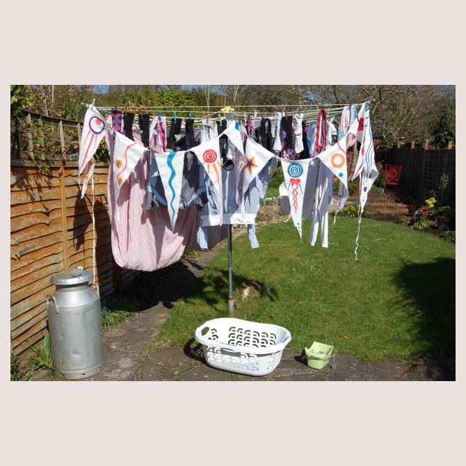 I've buntified the dreaded washing!