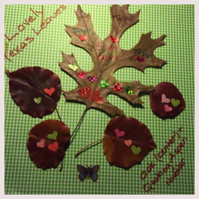 Ellen Elwell's Leafy Love-Note