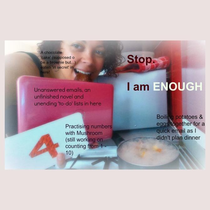 I Am Enough, by Rachael