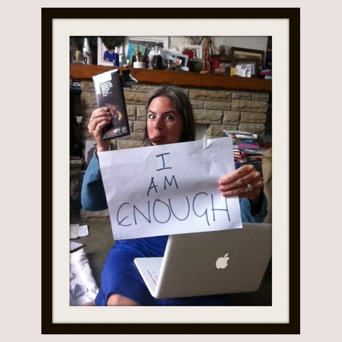 I Am Enough, by Pippa