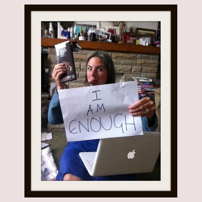 I Am Enough, by Pippa
