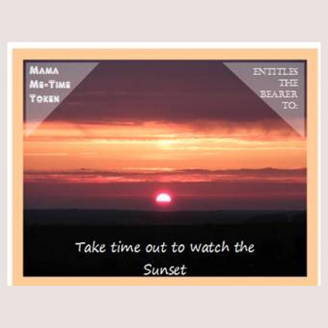 Watch a sunset
