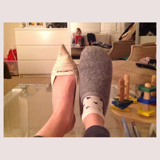My Best Feet by brittlenails