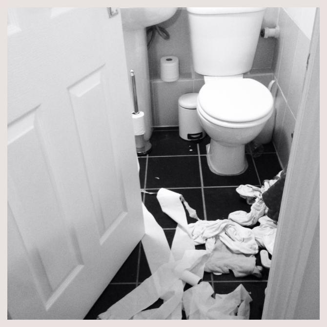 Bathroom chaos
