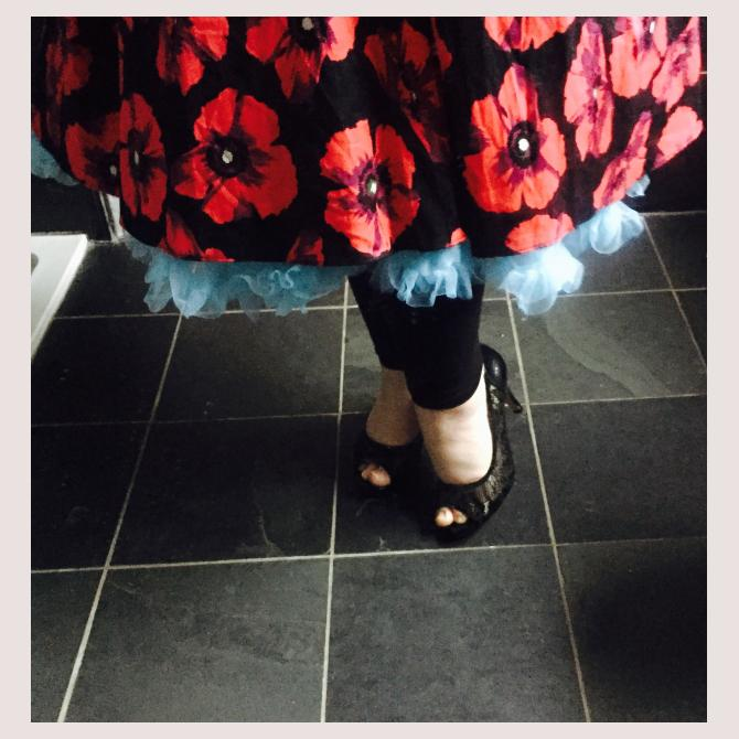When From Nikki is dressed by the kids...