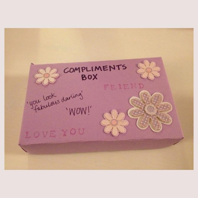 mumturnedmom's Box of Compliments