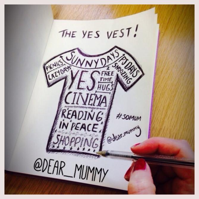 dear_mummy's Yes Vest