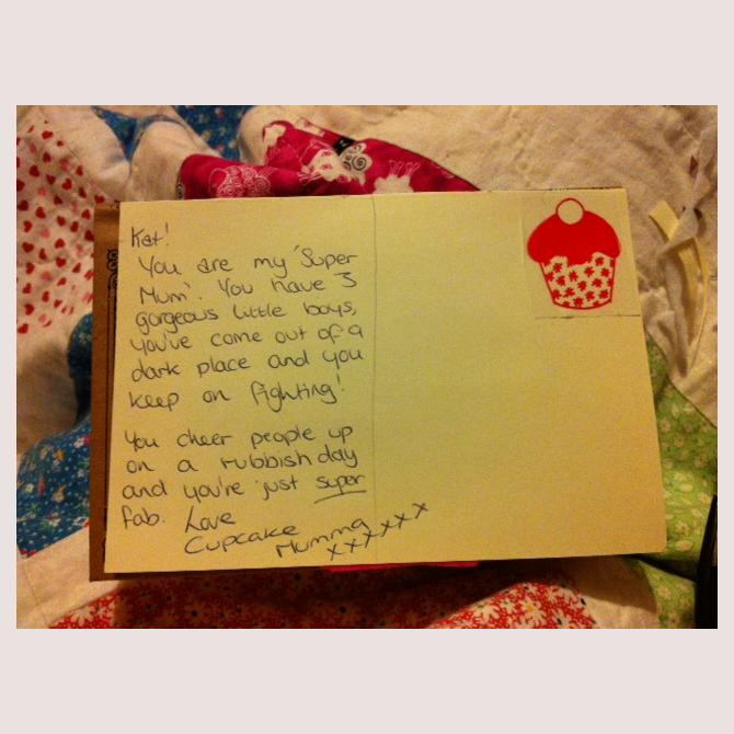 CupcakeMumma's Postcard to a Supermum