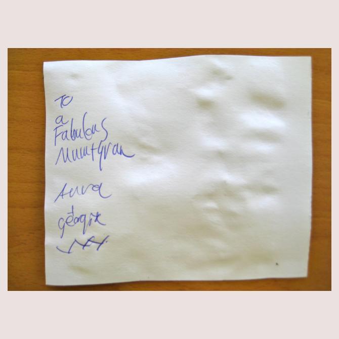 Anna's Postcard to a Supermum
