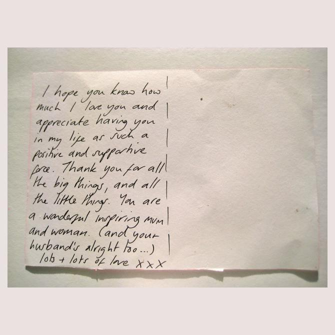 Pippa's Postcard to a Supermum
