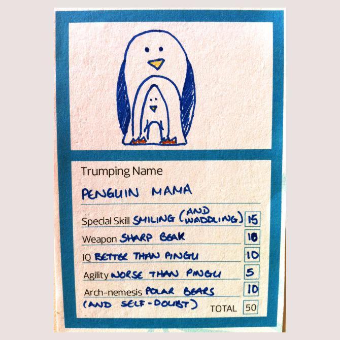 Penguin Mama
