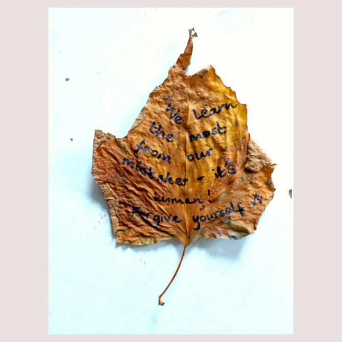 Anonymous's Leafy Love-Note