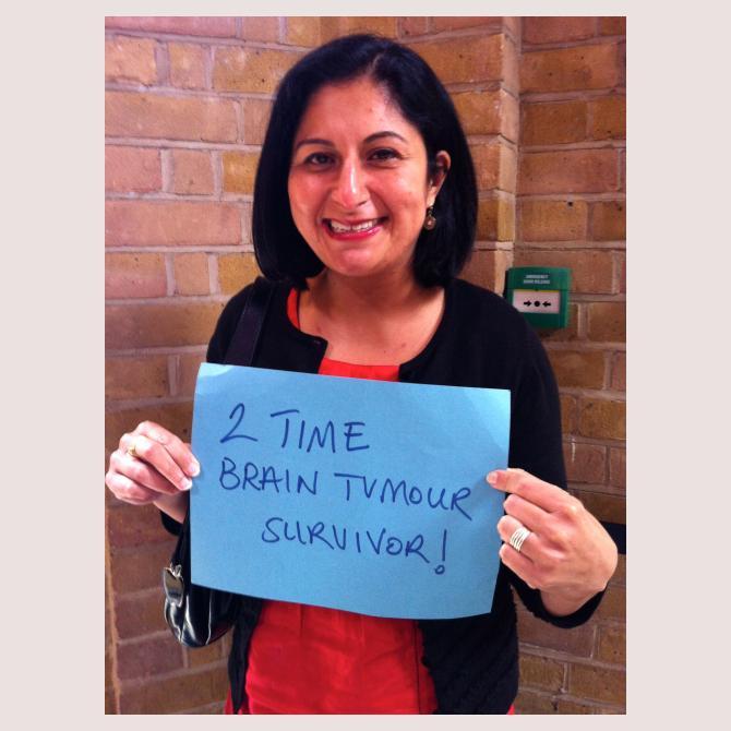 2 Time Brain Tumour Survivor