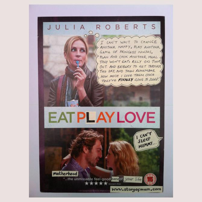 Eat Play Love: (Motherhood: the unmissable feel-good bane of your life...)