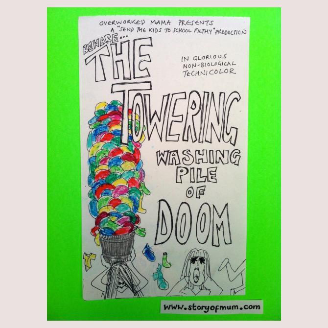 The Towering Washing Pile of Doom