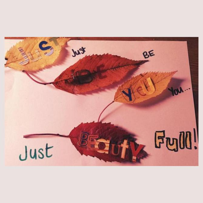 Rachael's Leafy Love-Note