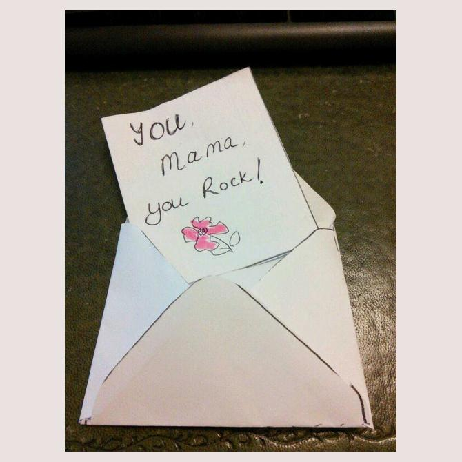 Encouragement card by i.can