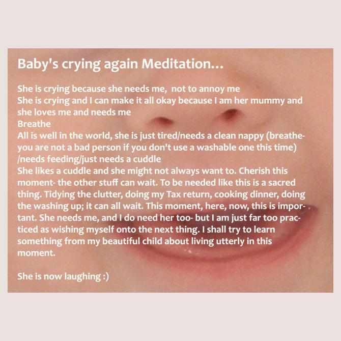 Kim's Unlikely Meditation for Mamas