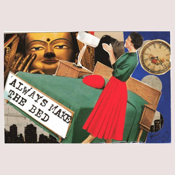 Suzi Banks Baum's Postcard to a Supermum