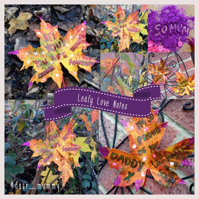 dear_mummy's Leafy Love-Note