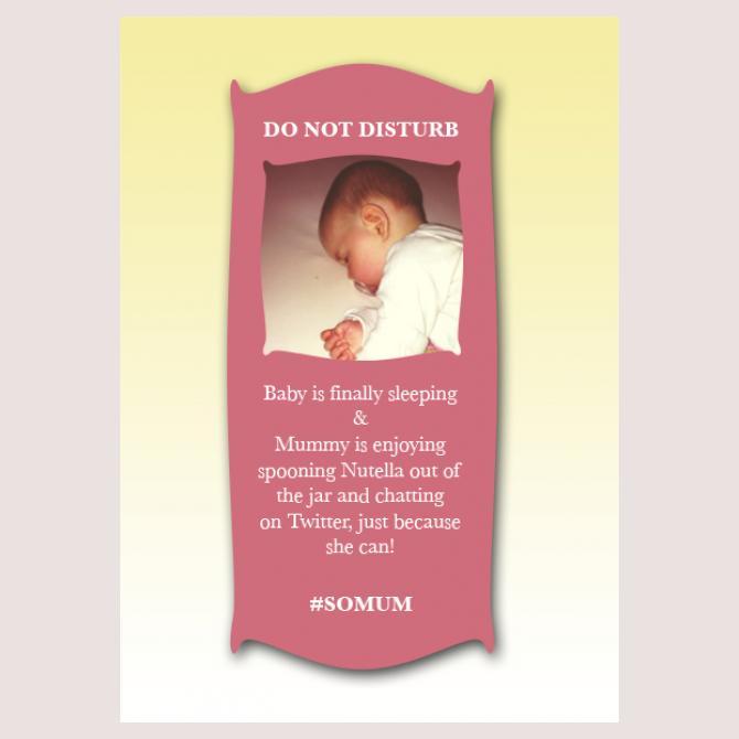 Do Not Disturb!