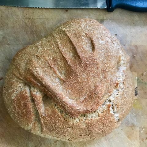 Lockdown bread baking