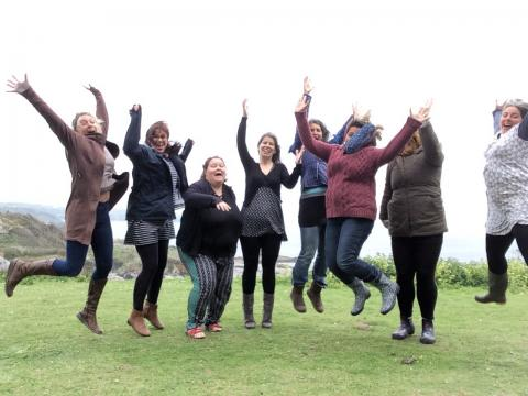 Join a mamas' retreat with Story of Mum - nurturing tired stressed mothers in Cornwall