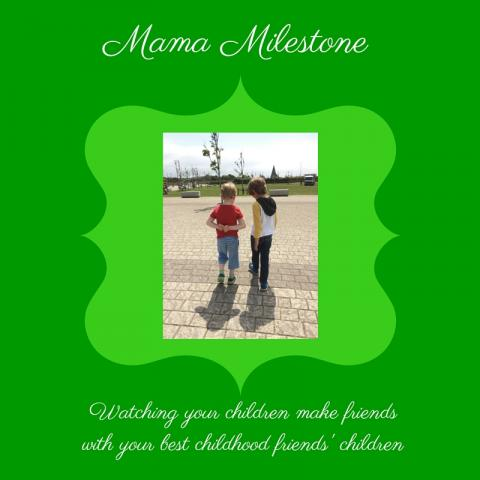 preserving mothering memories in an alternative baby book for mums: Mama Milestones