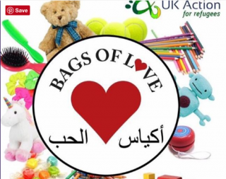 Support children in Aleppo's hospitals by donating to UK Action for Refugees' Bag of Love appeal