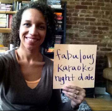 I'm a M.O.M. and a... fabulous Karaoke Night Date