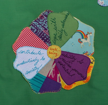Join in the #Wellmaking Craftivists Garden with Story of Mum - image by Tom Price