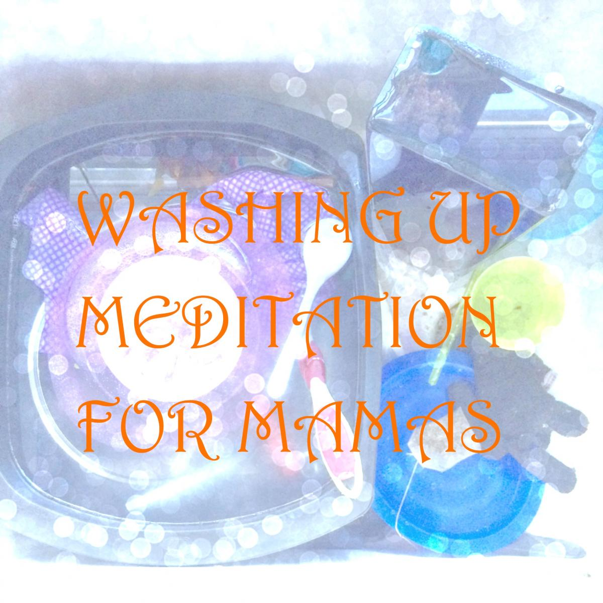 A meditation for washing up